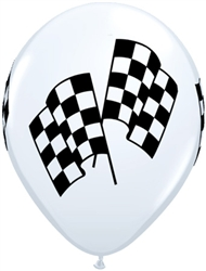 Q37118-11 inch latex race flags
