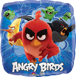 "Angry birds 18"" square"