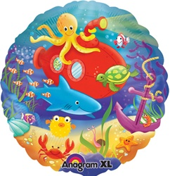 A119357-18 inch round deep sea fun