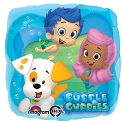 A27446-18 inch square bubble guppies