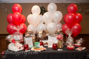 balloons - table backdrop